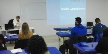Latest addition to the training in MYOFASCIAL INDUCTION TUPIMEK- Headquaters- Murcia